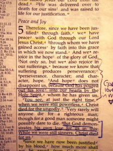 I held tight to these verses as I entered surgery.
