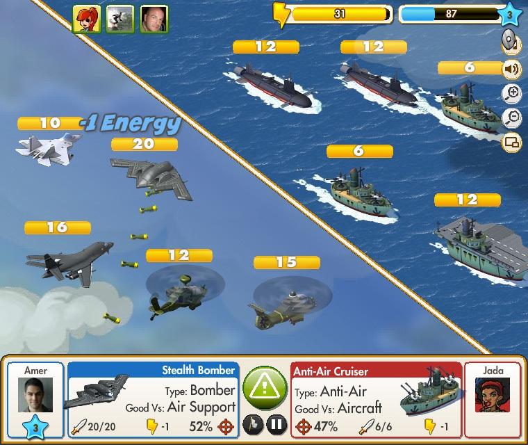 Empires & Allies Screen Shot - Air Battle