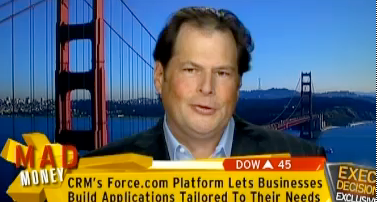 Marc Benioff on TV