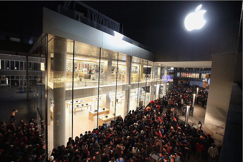 iPhone 4S Launch in China