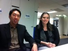Coursera co-founders Andrew Ng and Daphne Koller