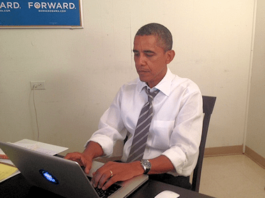 President Obama, probably not writing a review