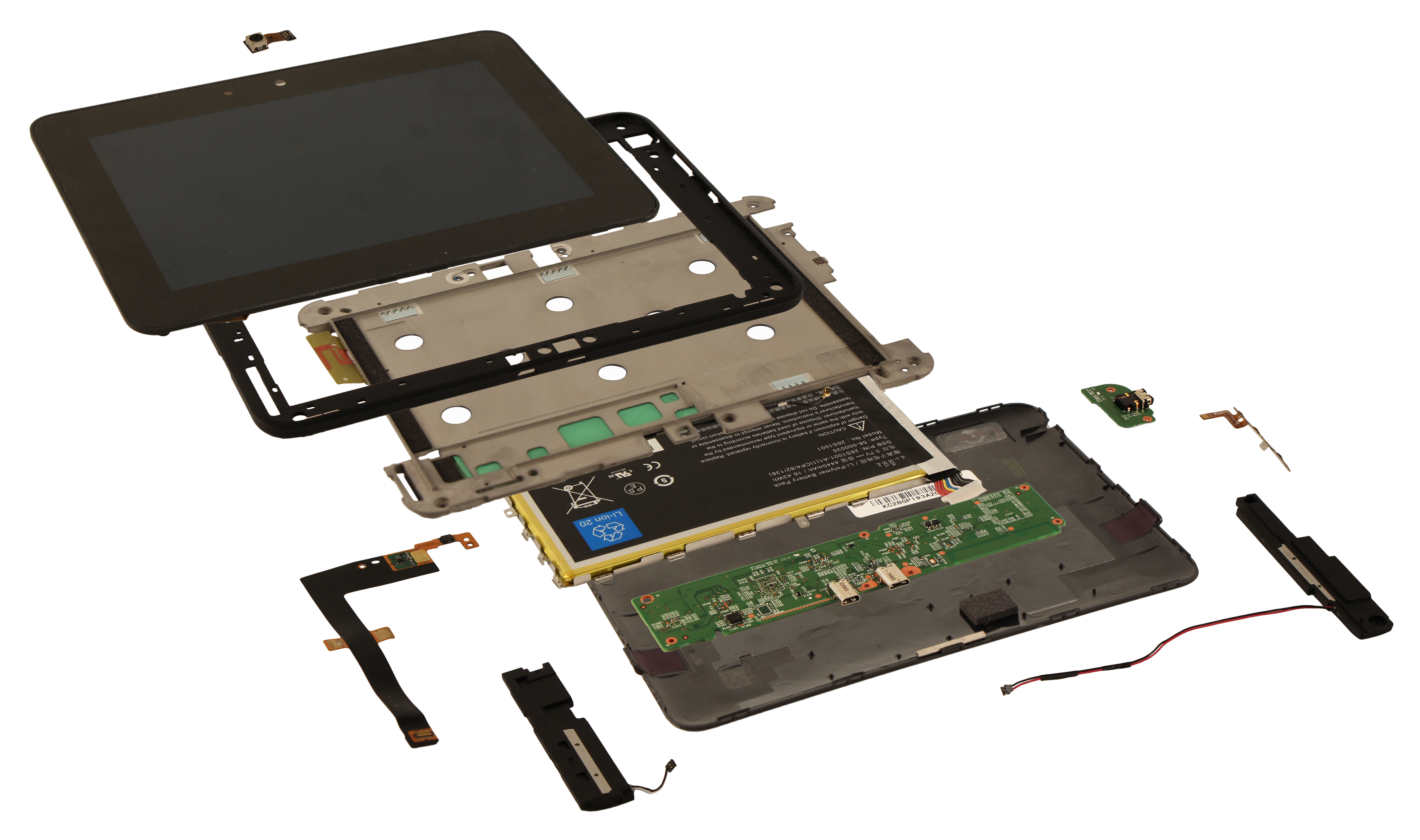 Kindle Fire Hd Exploded View