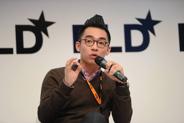 China Youthology COO Kevin Lee in conversation at DLD, Munich.