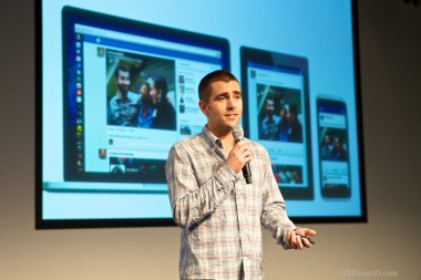 Facebook Product Chief Chris Cox talks about having a unified News Feed design across desktop computers, tablets, and smartphones.