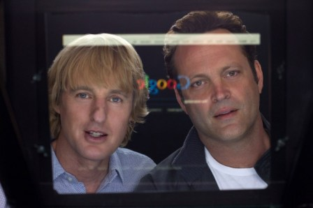 "Owen Wilson and Vince Vaughn in ""The Internship"""