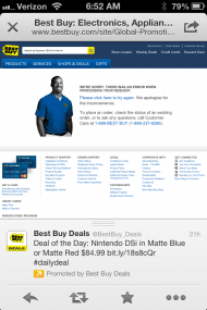 Best Buy Broken Link