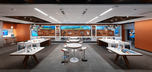 AT&T Store of the Future Wideshot