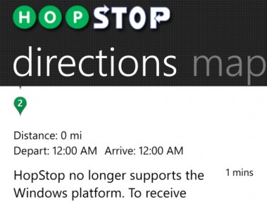 HopStop_No_Longer_Supports_Windows