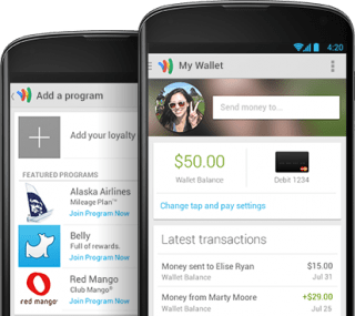 new Google Wallet