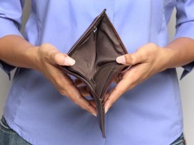 empty wallet shutterstock