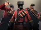 Team Fortress 2's Soldier, Pyro and Heavy try the Oculus Rift.