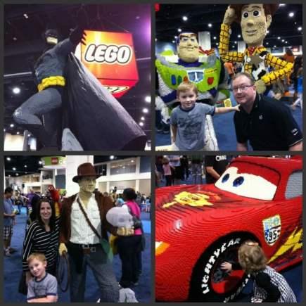 LEGO-sculptures