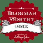 Blogmas2013 Winner