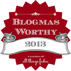 Blogmas 2013: Don't Fence Me In