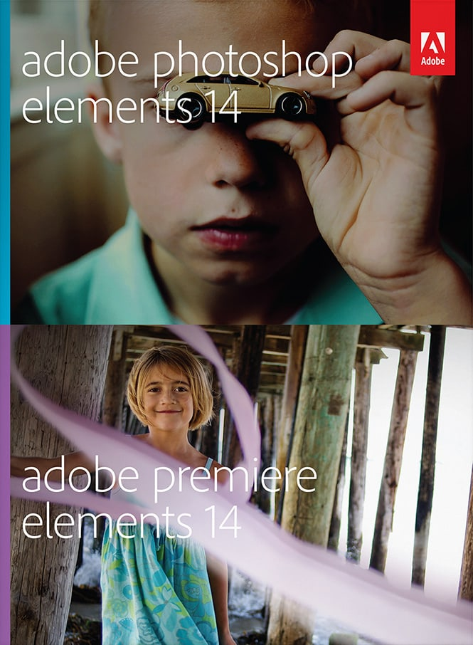 Adobe Photoshop Elements 14 and Adobe Premiere Elements 14