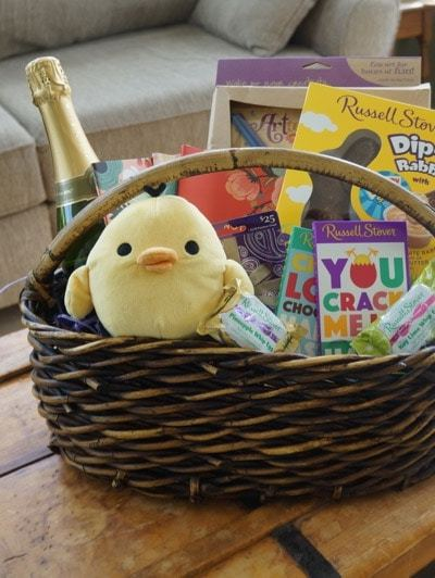 Making a Grown-Up Easter Basket