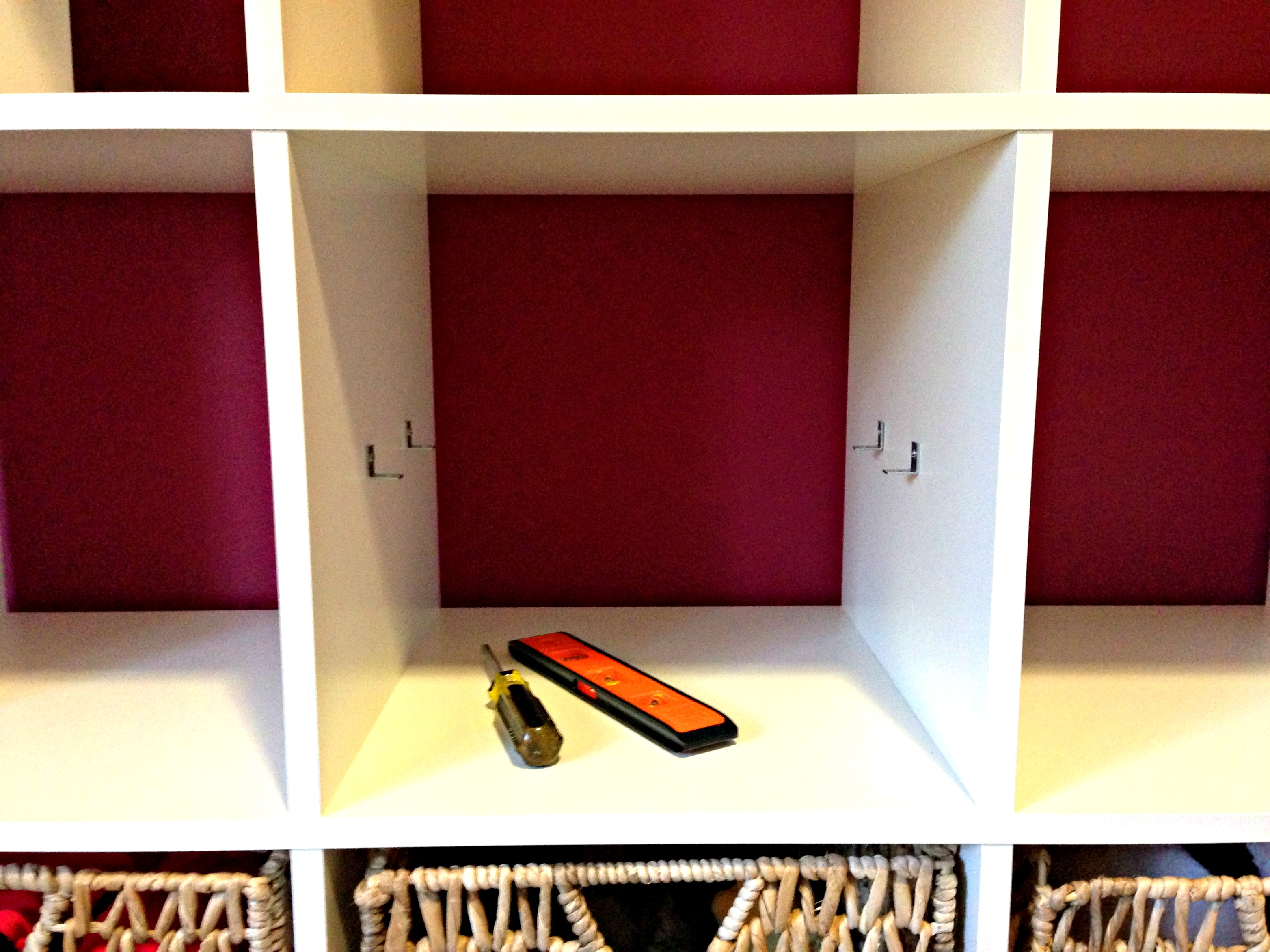 Ikea Expedit Orange How To Add A Shelf To An Ikea Expedit All Things G D