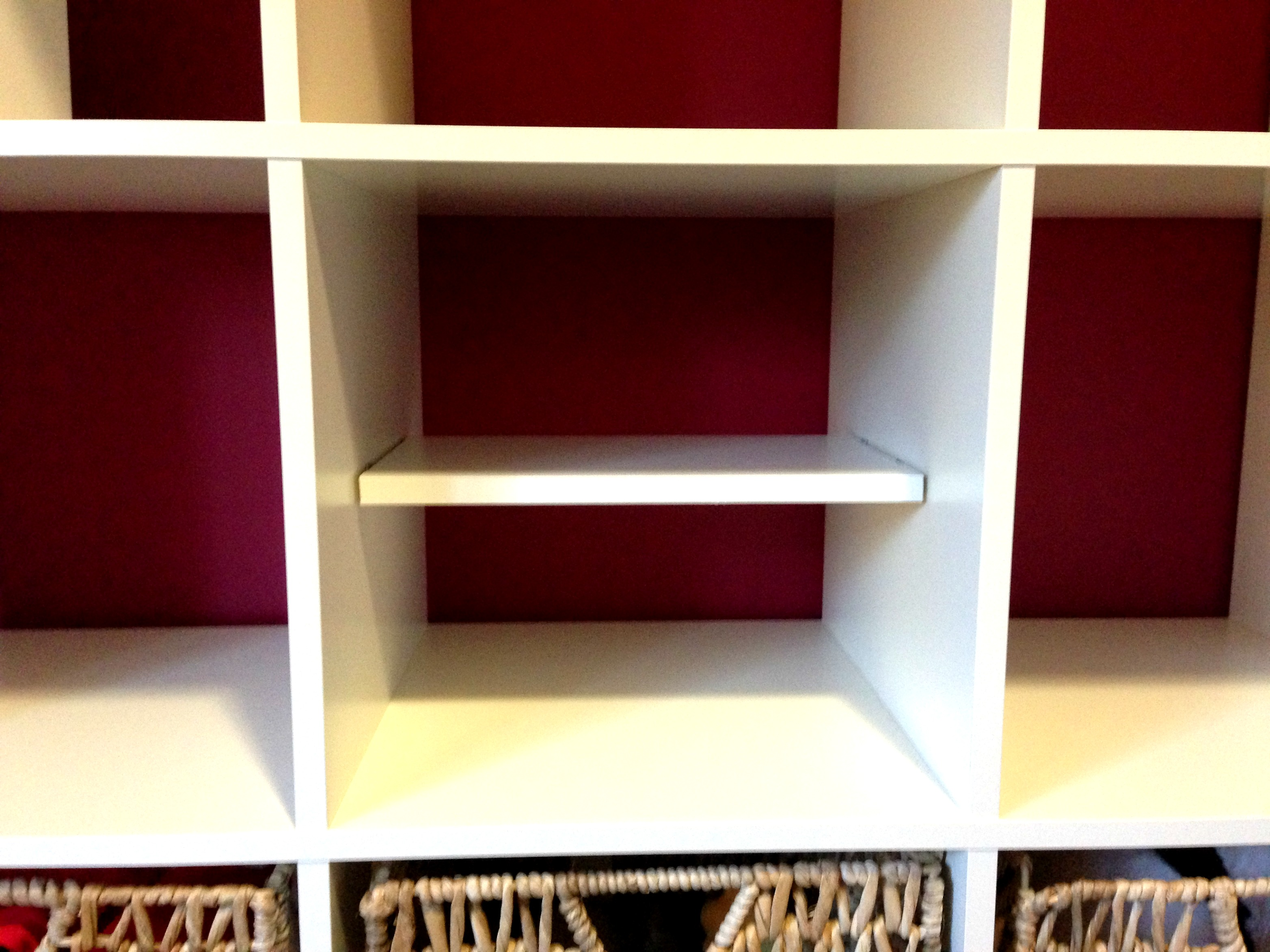 Ikea Cubes How To Add A Shelf To An Ikea Expedit All Things G D