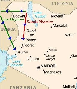 Early Migrations To Kenya