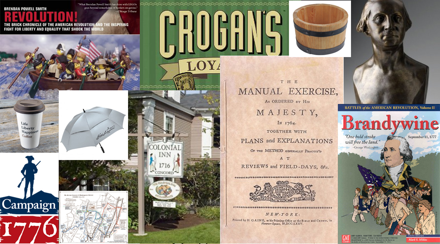 Revolutionary War History Geek Gift Guide 2015 - Journal of the