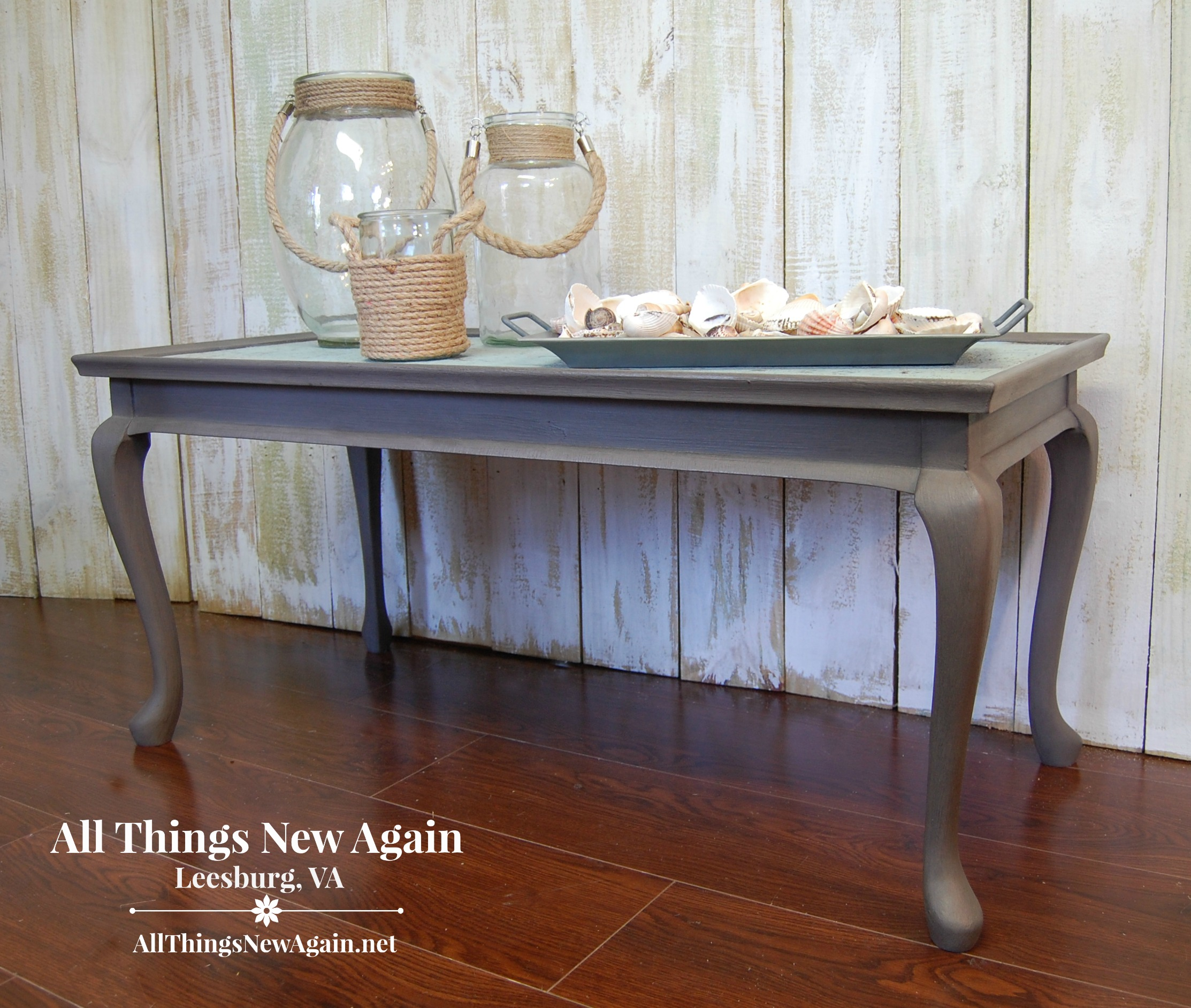 Coastal Coffee Table Table Palooza The Whole Month Of August At All Things New