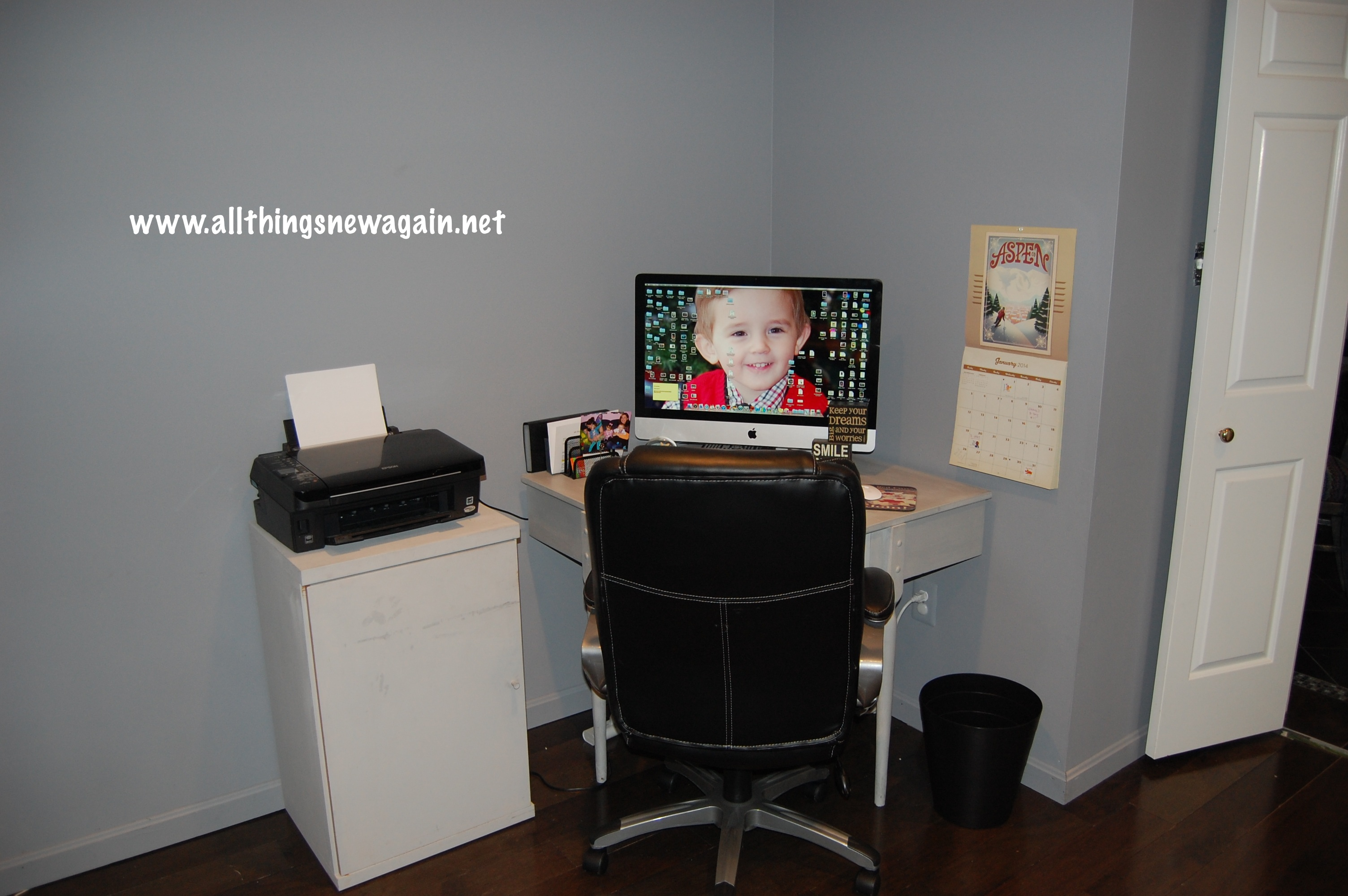 Matching Office Desk Accessories Courtney 39s Office Renovation January 2014 Update All