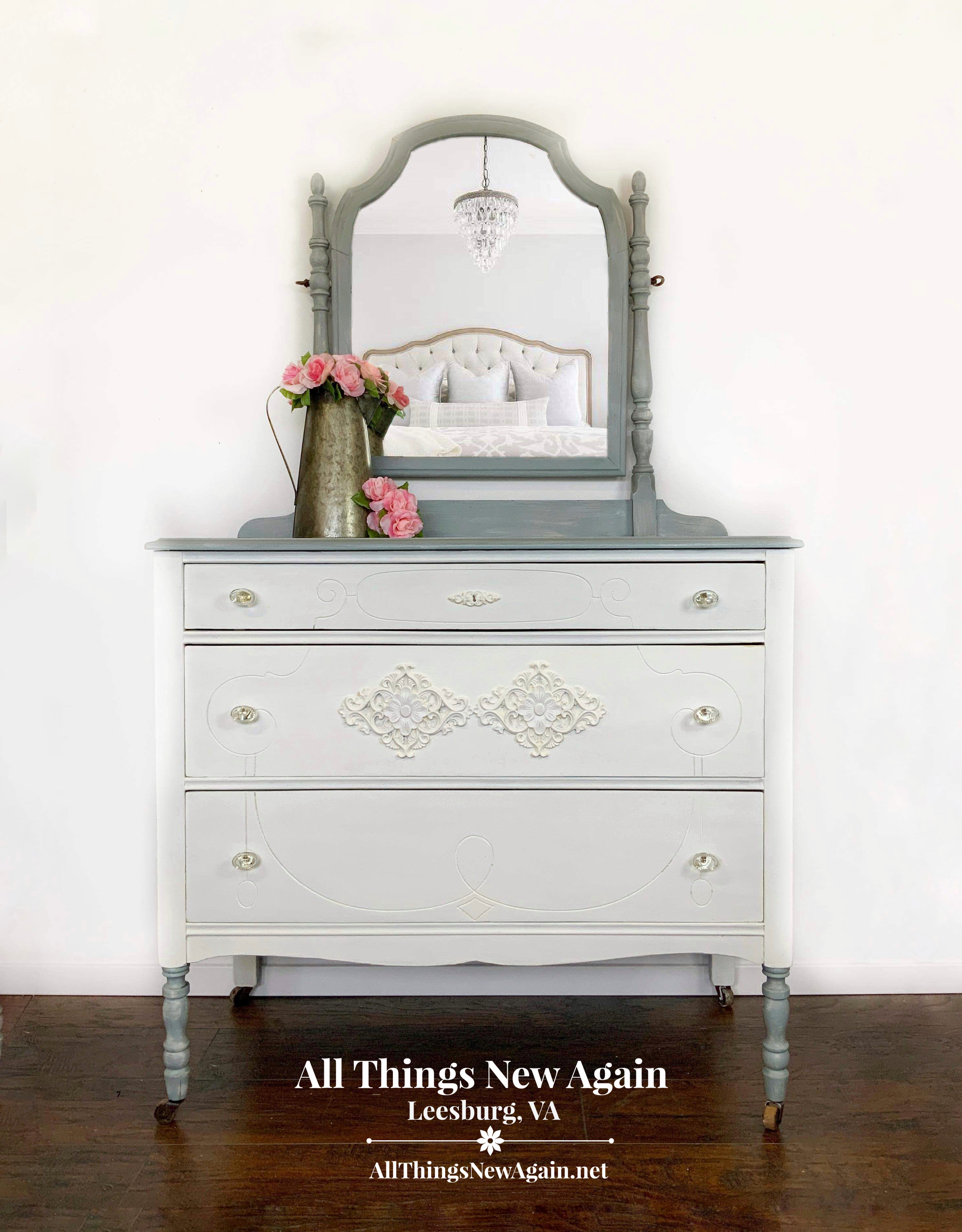 Modern Farmhouse Dresser Painted Perfection All Things New Again