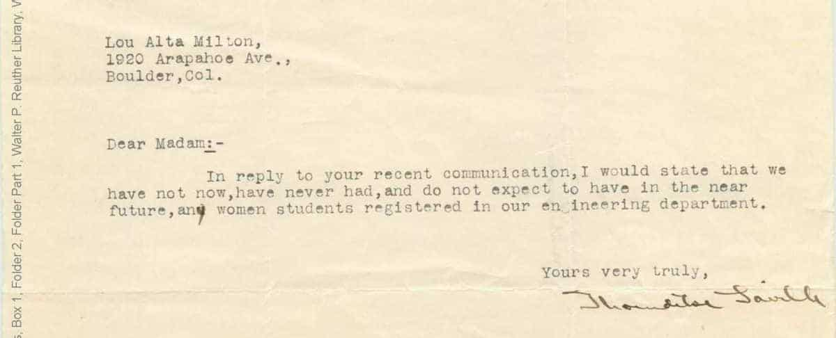 These Rejection Letters to Women Engineers Will Infuriate You - All