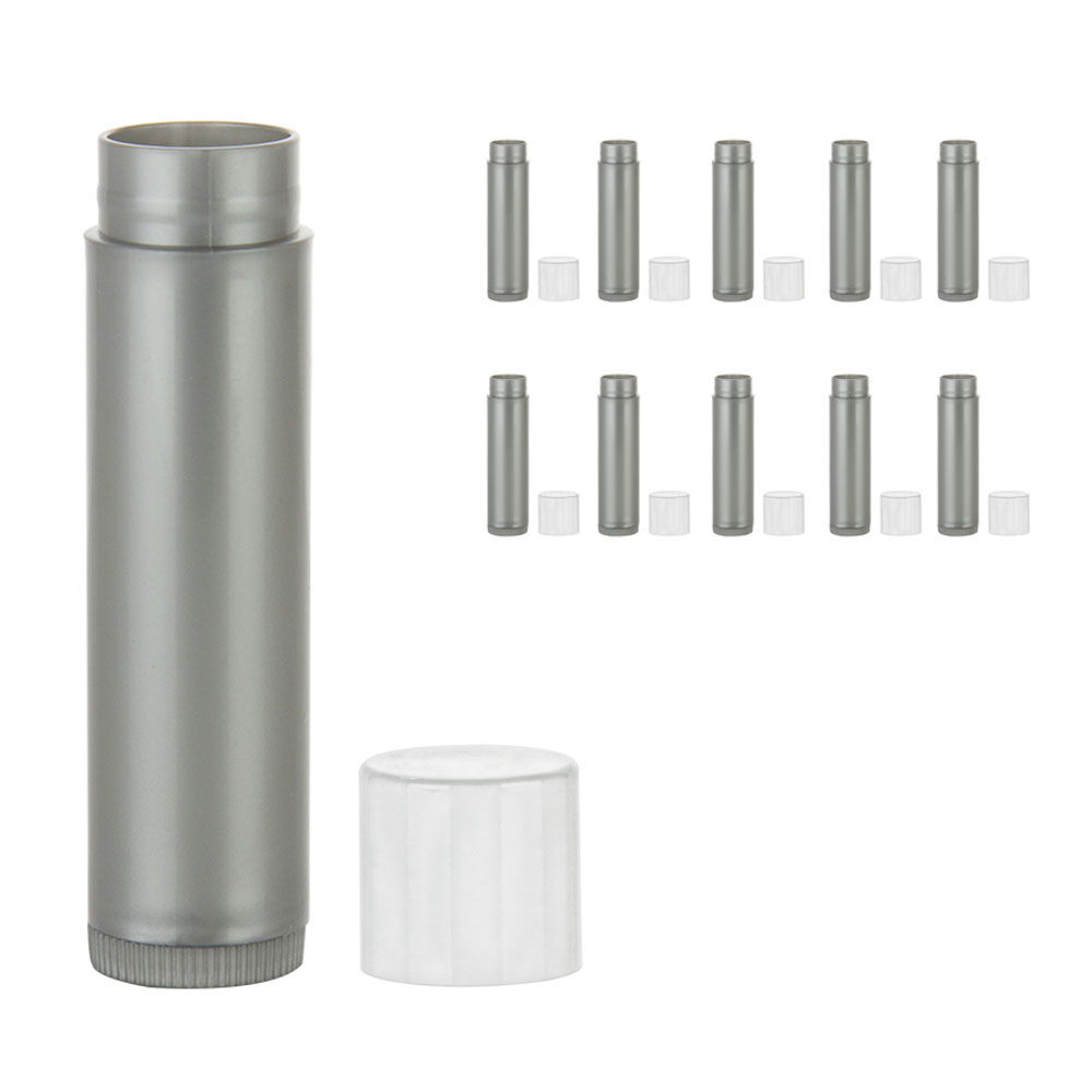10 Pc Empty Lipstick Container Lip Balm Tube Case Caps Jars Chapstick Bpa Free 7795735217689 Ebay