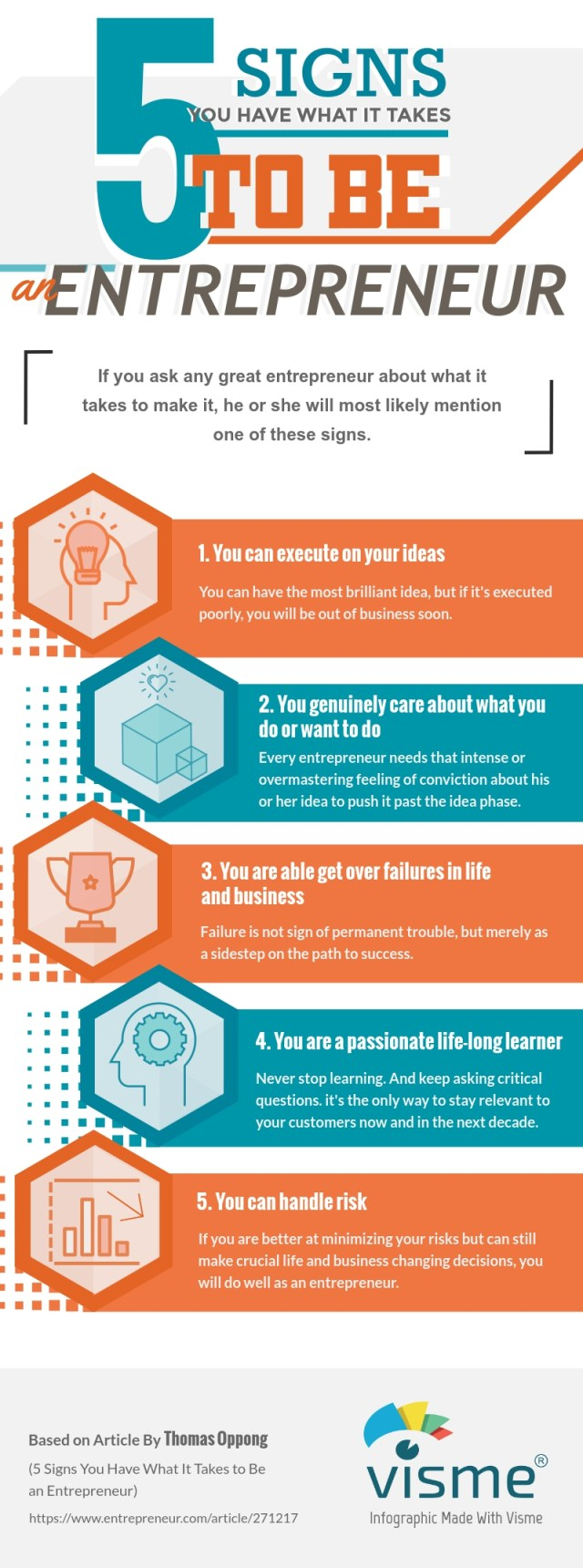Signs You Have What It Takes to Be an Entrepreneur