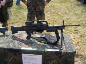 Heckler Koch HK MG4 MG 43 Machine Gun