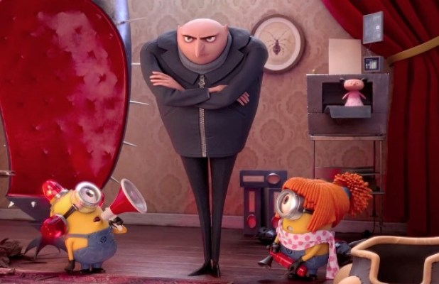 Top Ten Best Animated Movies Of All Time : Despicable Me 2