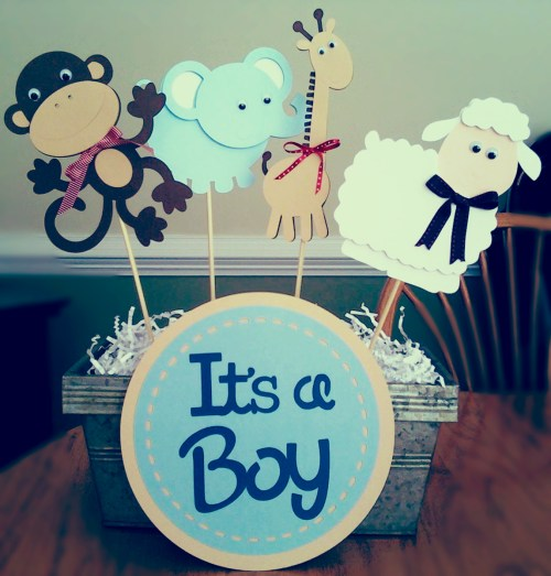Medium Of Baby Boy Baby Shower