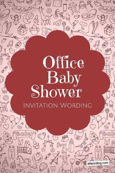 Office Baby Shower Invitation Wording » AllWording