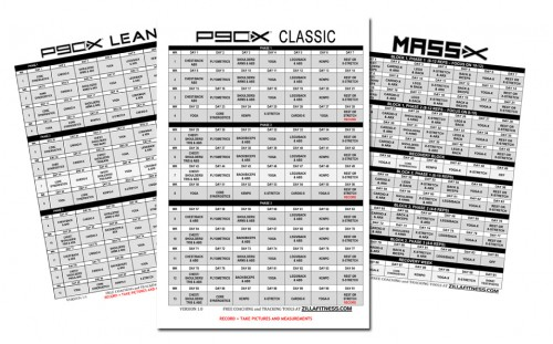 p90x workout sheets Archives - AllWorkoutRoutines
