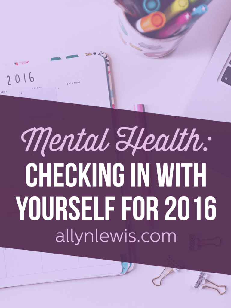 What does your mental health check-in process look like?