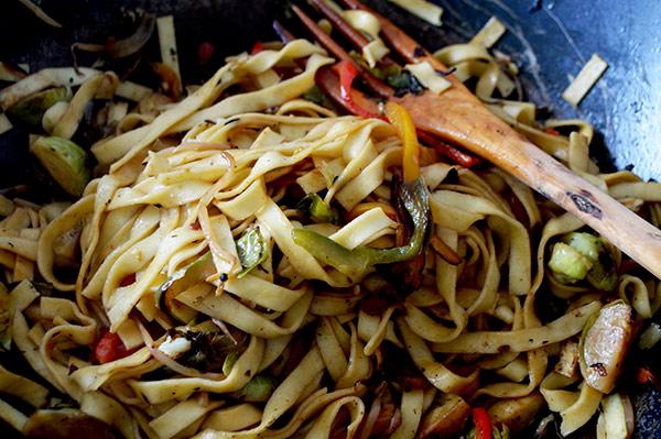 tallarines-wok