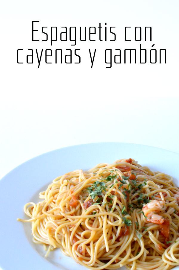 espaguetis-con-gayenas-y-gambon