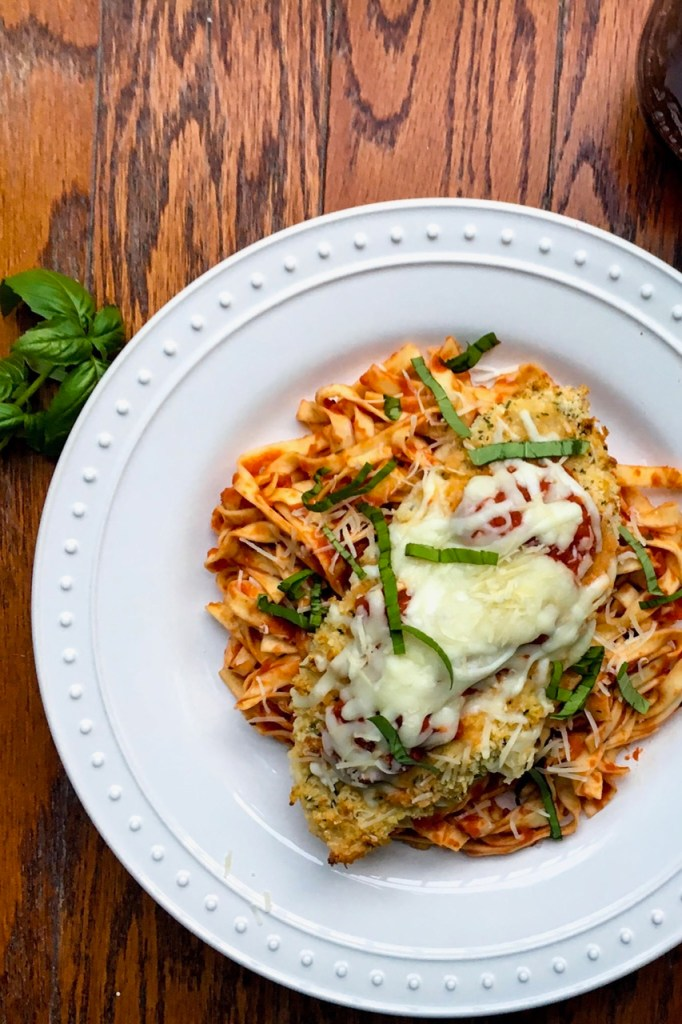 Baked chicken parmesan: healthier, crispier, and more delicious than ...