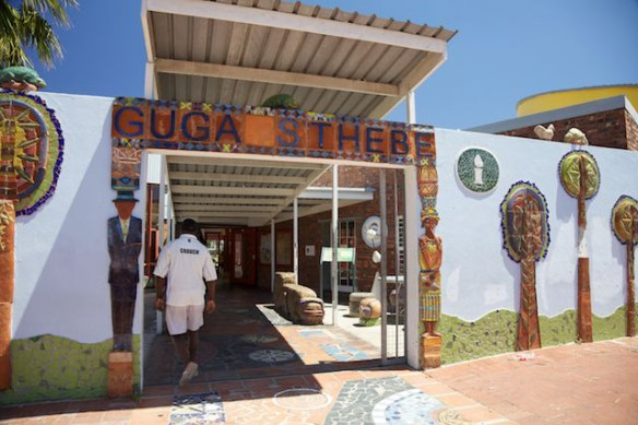 Community centre in Langa Township, South Africa  (c) Allyson Scott