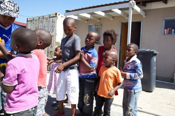 Children in Langa Township, South Africa  (c) Allyson Scott