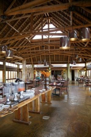 Restaurant at the main lodge  (c) Allyson Scott