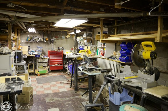 Peter's workshop