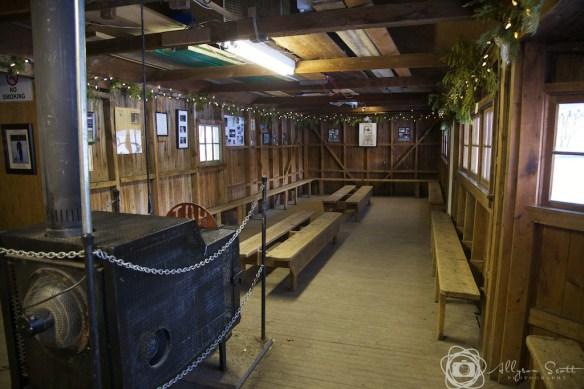 Cedarena clubhouse interior