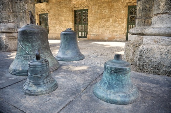 Bells in Plaza de Armas, Havana