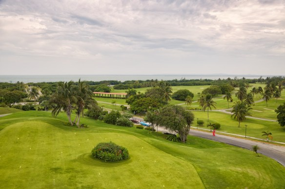 Varadero Golf Club seen from Xanadu mansion