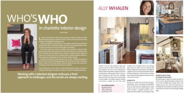 Charlotte Living: Who's Who in Design