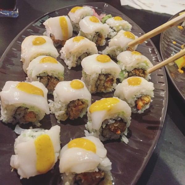 happy river, bilbao, sushi, ondori izakaya