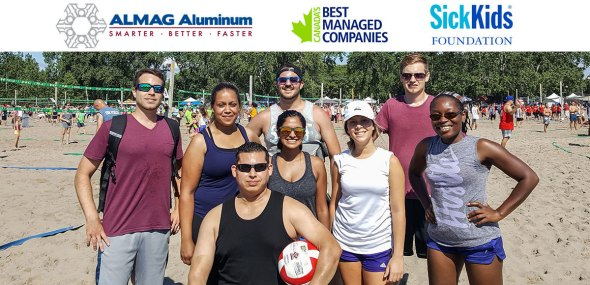 ALMAG All Stars Participate in HEATWAVE for SickKids